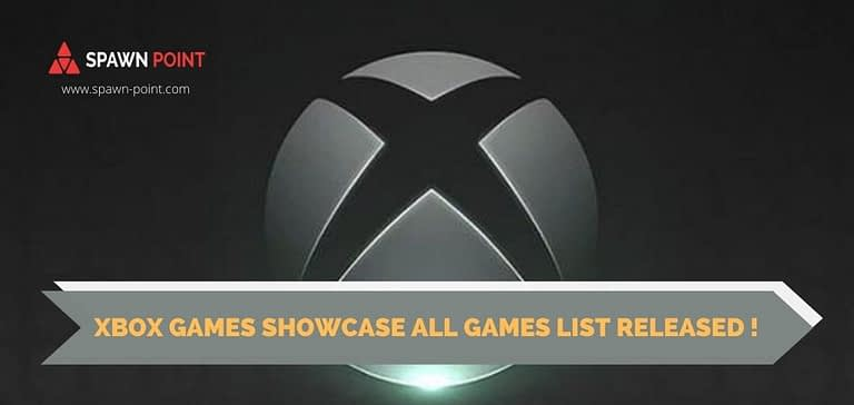 Xbox Games Showcase All Games List Released !- Header