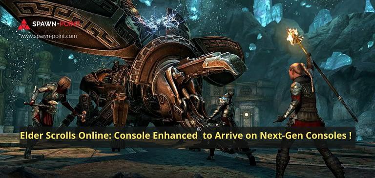 Elder Scrolls Online Console Enhanced to Arrive on Next-Gen Consoles