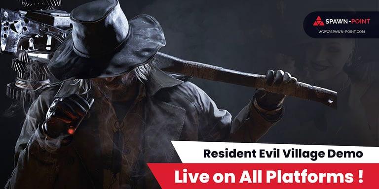 Resident Evil Village Live on All Platforms - Header