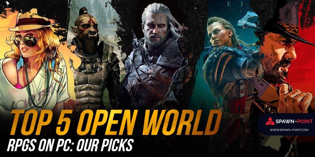 Top 5 Open World RPGs: Our Picks- Header
