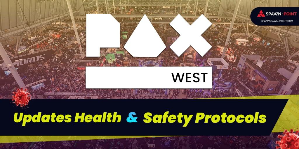 PAX West Updates Health & Safety Protocols - Header