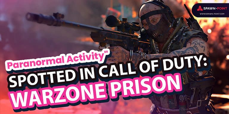 """""""Paranormal Activity"""" Spotted in Call of Duty: Warzone Prison- Header"""