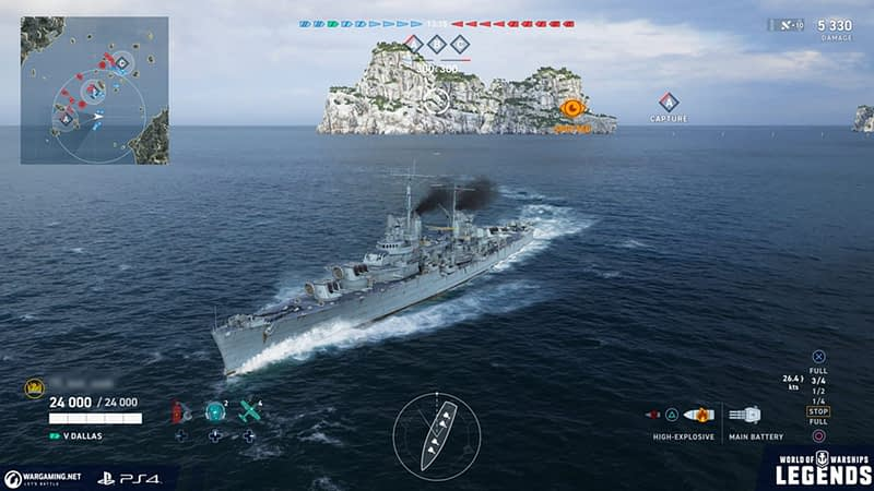 Update in World of Warships: Legends
