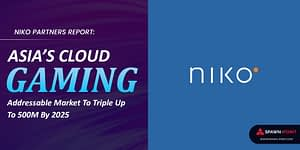 Niko Partners Report Asia's Cloud Gaming Addressable Market To Triple Up To 500M By 2025 - Header