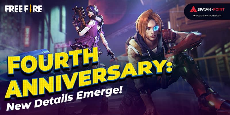 Free Fire Fourth Anniversary: New Details Emerge!- Inner