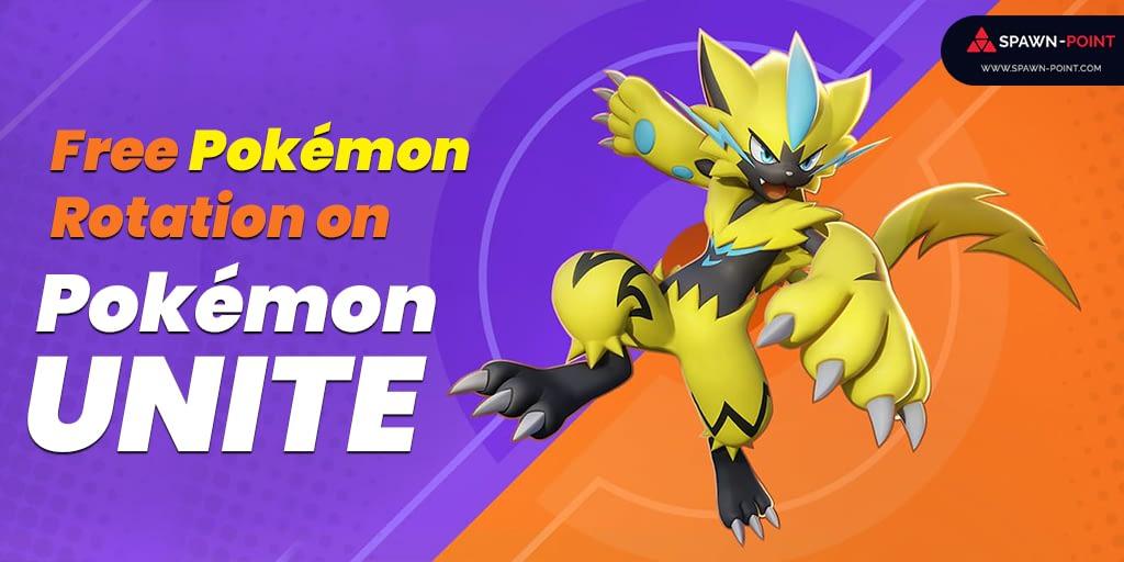 Free Pokémon Rotation on Pokémon UNITE - Header