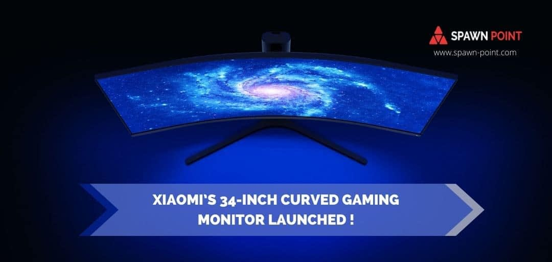 Xiaomi's 34-Inch Curved Gaming Monitor Launched - Header