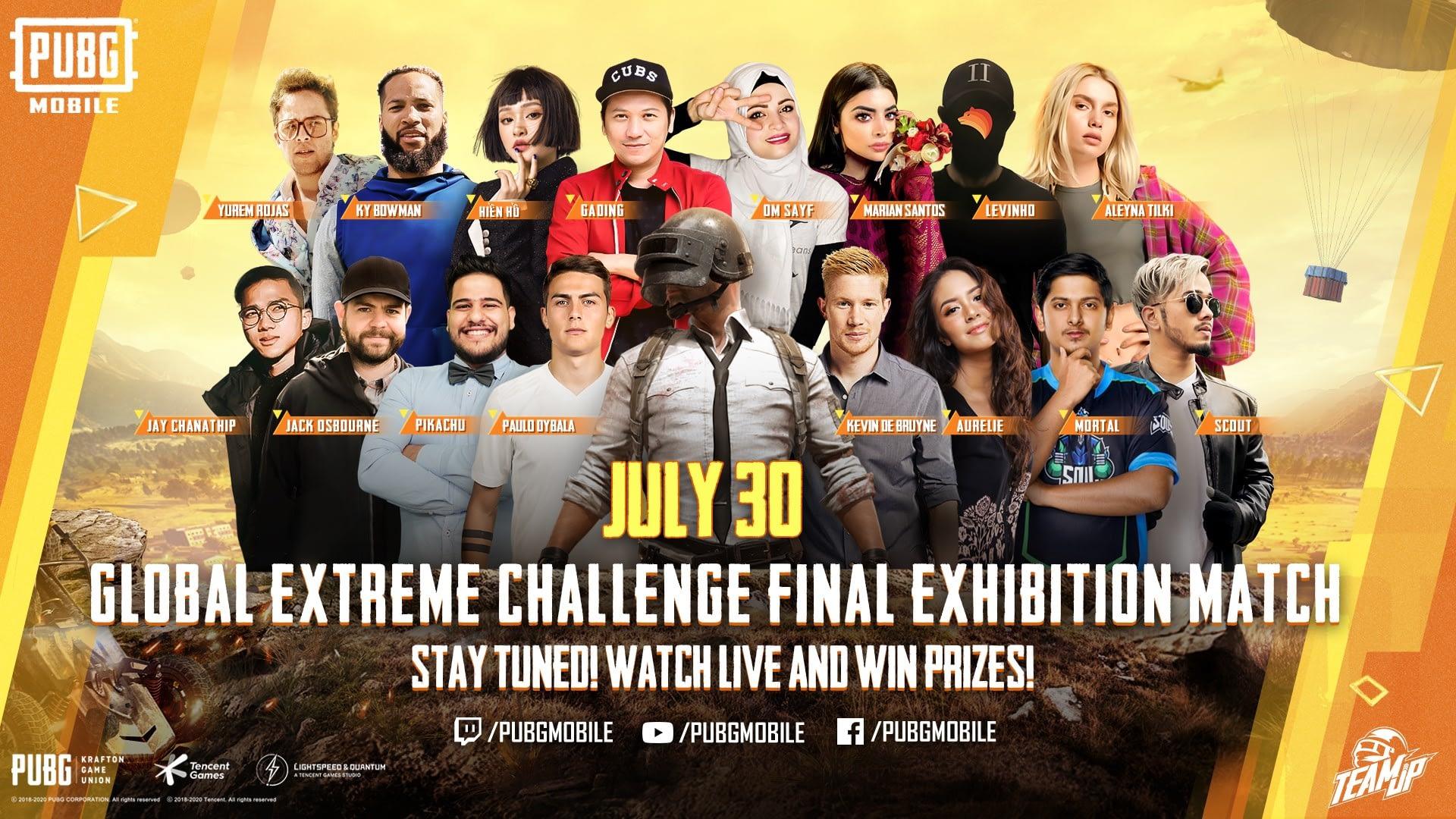 PUBG Mobile Global Extreme Challenge