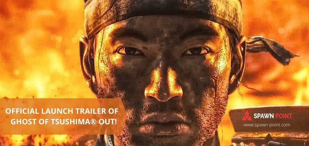 Launch Trailer of Ghost of Tsushima® Out! - Header