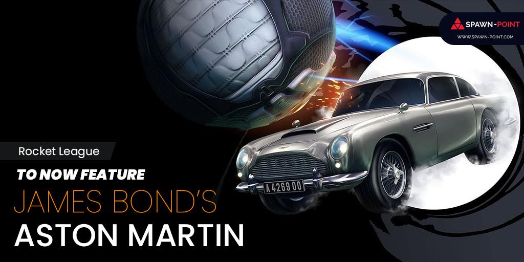 Rocket League to Feature James Bond's Aston Martin - Header