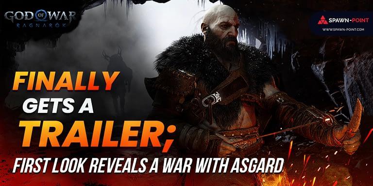 God of War Ragnarök Finally Gets A Trailer; First Look Reveals A War With Asgard- Header