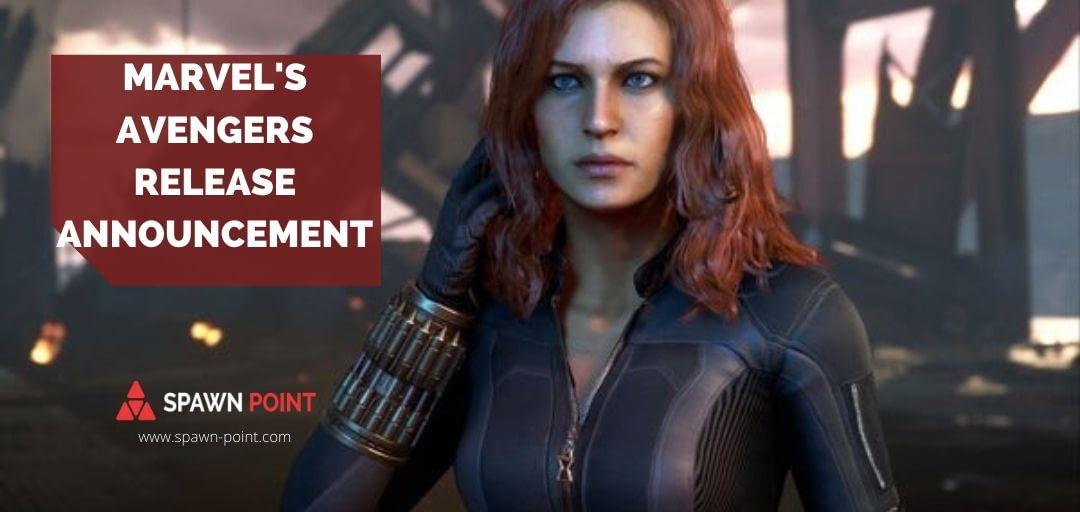 Marvel's Avenger Release Date Header