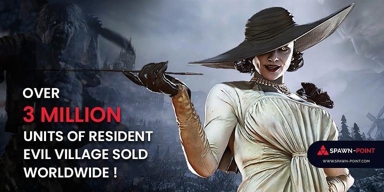Over 3 Million Units of Resident Evil Village Sold Worldwide - Header