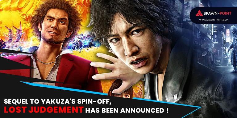 Sequel to Yakuza, Lost Judgement Has Been Announced ! - Header