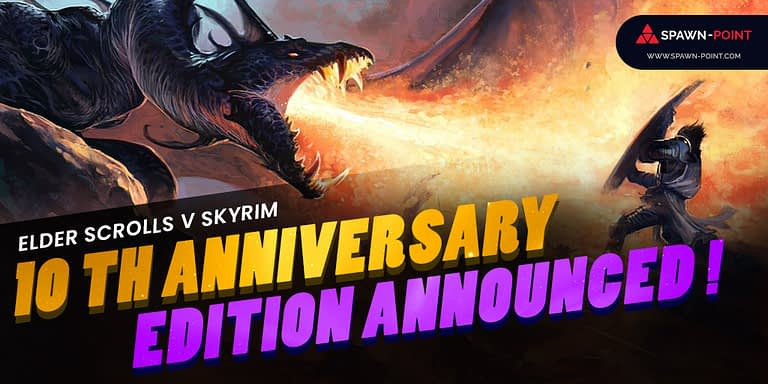 Elder Scrolls V Skyrim 10th Anniversary Edition Announced!-Header