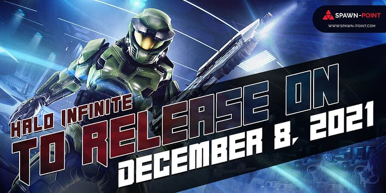 Halo Infinite To Release On December 8, 2021- Header