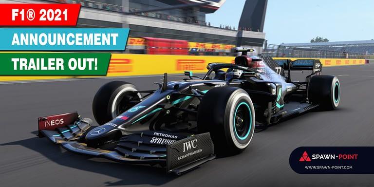 F1® 2021 Announcement Trailer Out! - Header
