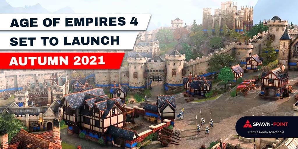 Age of Empires 4 set to laucnh autumn 2021 - Header