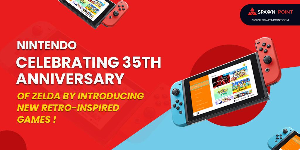 Nintendo Celebrating 35th Anniversary of Zelda by Introducing New Retro-Inspired Games - Header 1