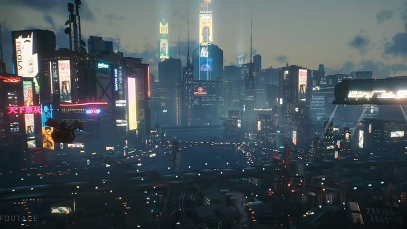 Gameplay trailer of cyberpunk 2077