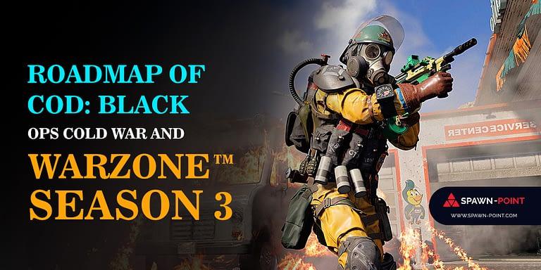 Roadmap of COD Black Ops Cold War and Warzone Season 3 - Header