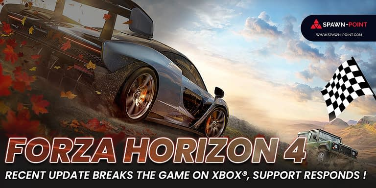 Forza Horizon 4 Recent Update Breaks the Game on Xbox, Support Responds - Header
