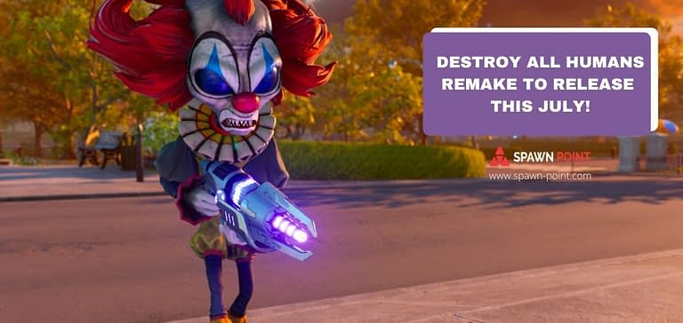 Destroy All Humans Remake to Release this July! - 2