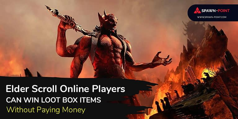 Elder Scroll Online Players Can Win Loot Box Items Without Paying Money - Header