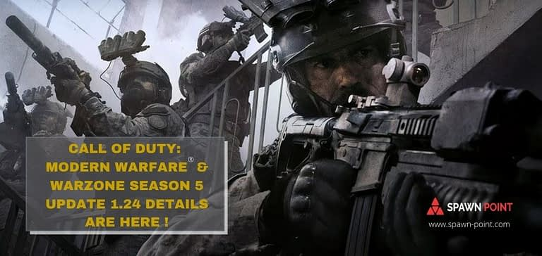 Call of Duty Modern Warfare® and Warzone Season 5 Update 1.24 Details Are Here - Header - Spawn Point