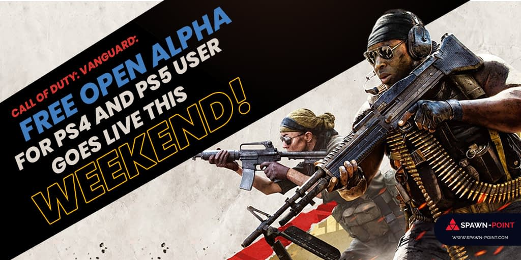 Call of Duty: Vanguard Free Open Alpha for PS4 and PS5 Users Goes Live This Weekend!- Header
