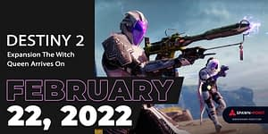 Destiny 2 Expansion The Witch Queen Arrives On February 22, 2022- Header