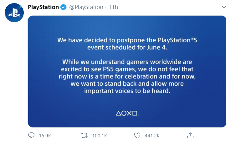 PS5 Game event